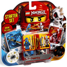 LEGO Ninjago: Masters of Spinjitzu - Starter Set