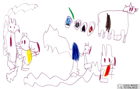 Click Clack, by Ben Langley, Age 5