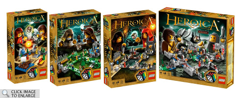 LEGO Heroica: Boxes