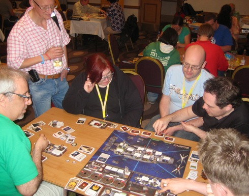 UK Games Expo 2011: Battlestar Galactica