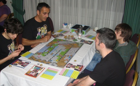 UK Games Expo 2011: Junkyard Races