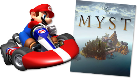 Computer Games: Mario Cart, Myst