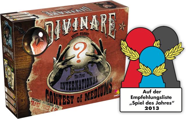BrettSpiel: Divinare, Spiel des Jahres